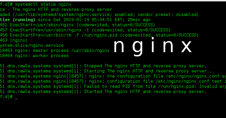 How to create a Web server using Nginx on Centos 7 - Linux Nimbus